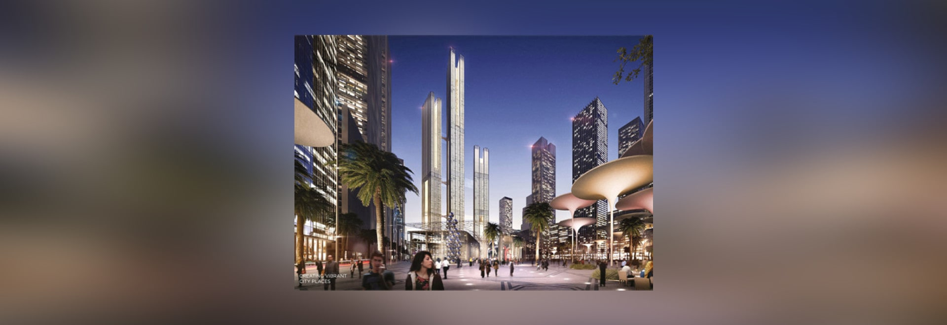 SOM reveals design for new sustainable capital city in Egypt