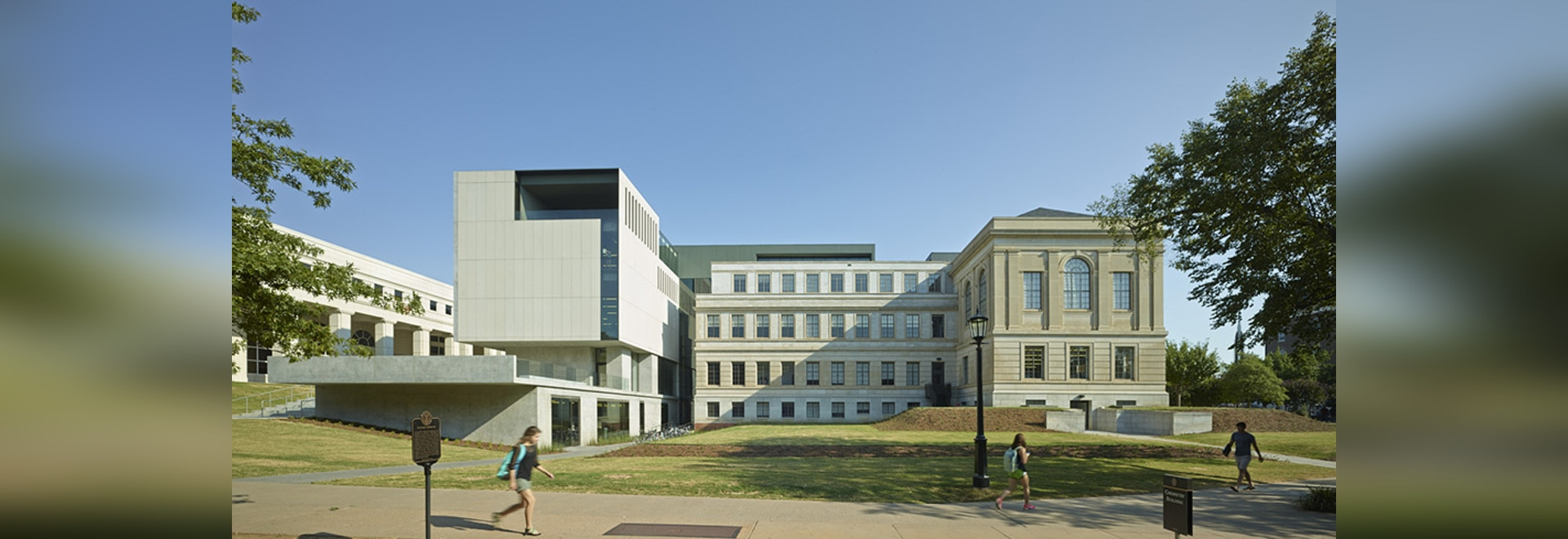 South elevation of Vol Walker Hall and addition ( Photo © : Timothy Hursley )