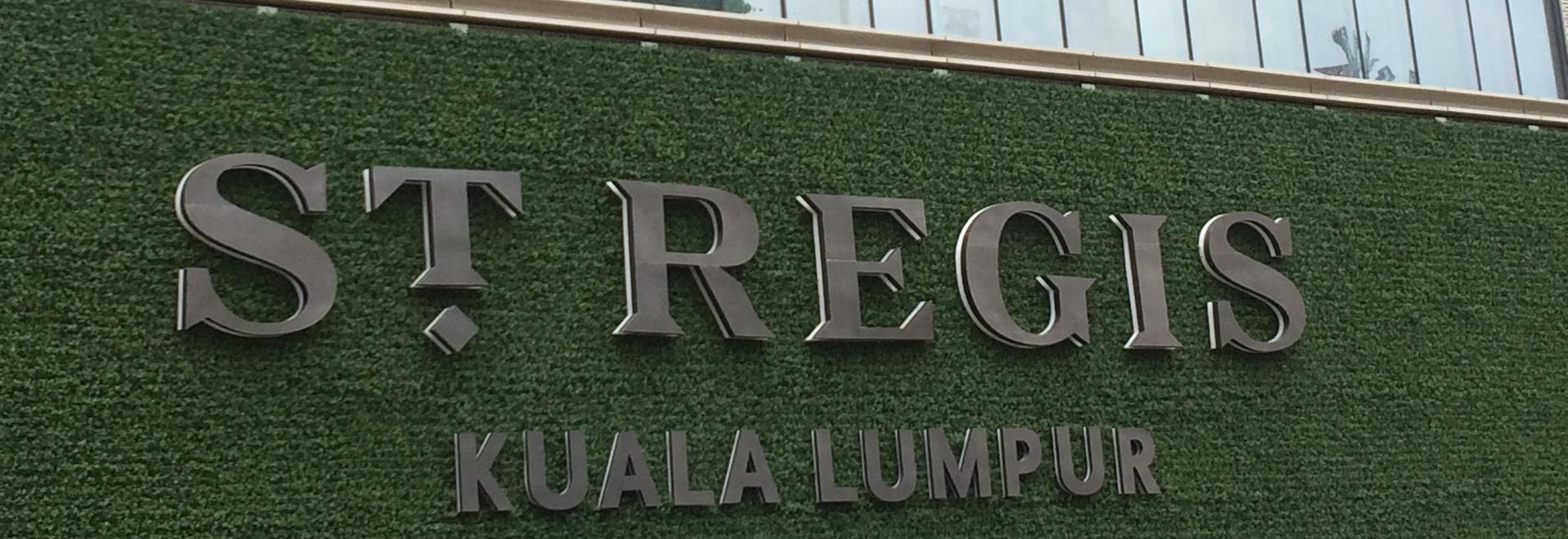 St. Regis Kuala Lumpur - Malaysia