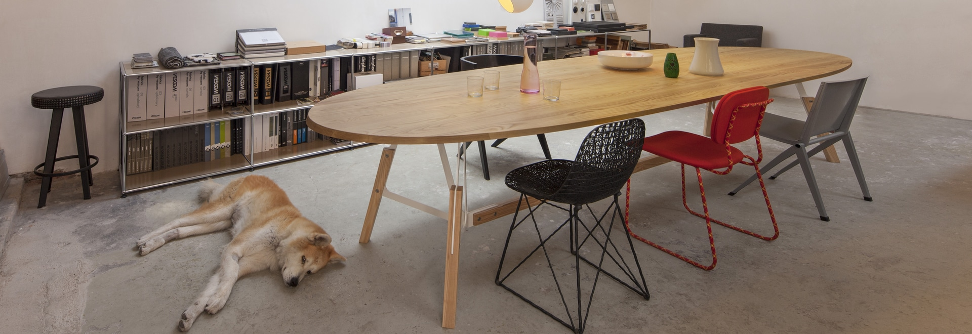 Stammtisch table by Alfredo Häberli for Quodes