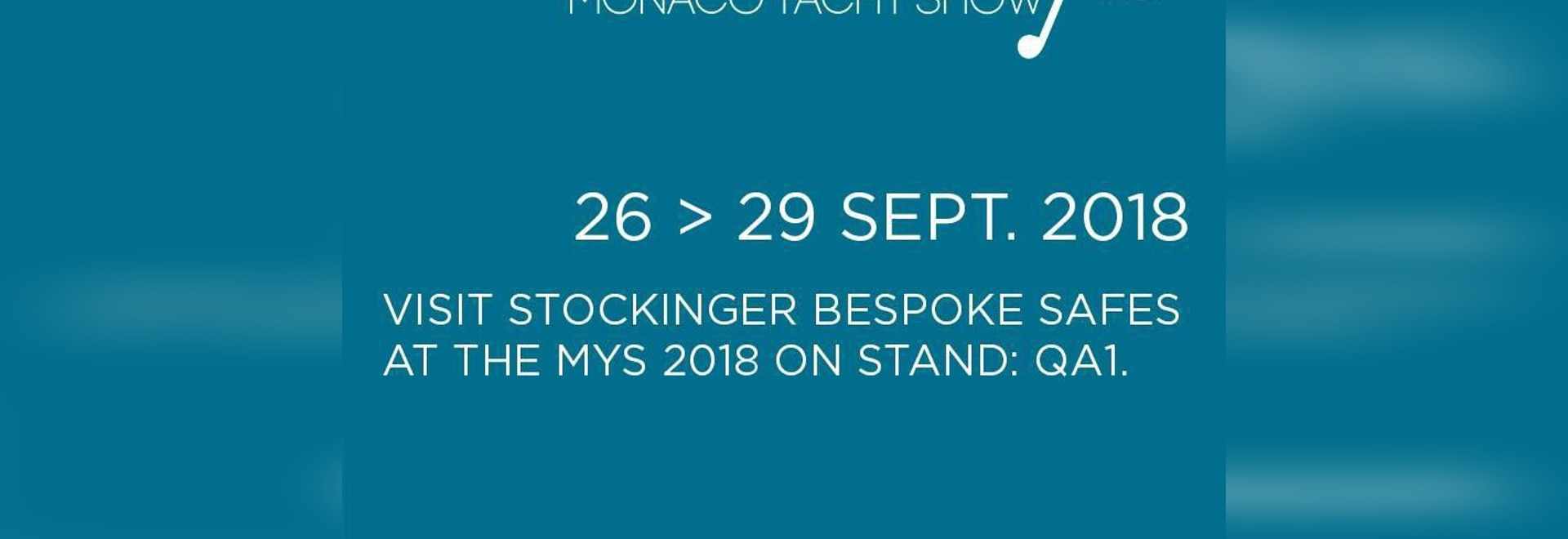 STOCKINGER BESPOKE SAFES @ MONACO YACHT SHOW 2018