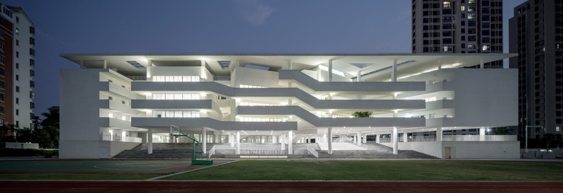 TAO configures introverted school in china to celebrate creativity and interaction