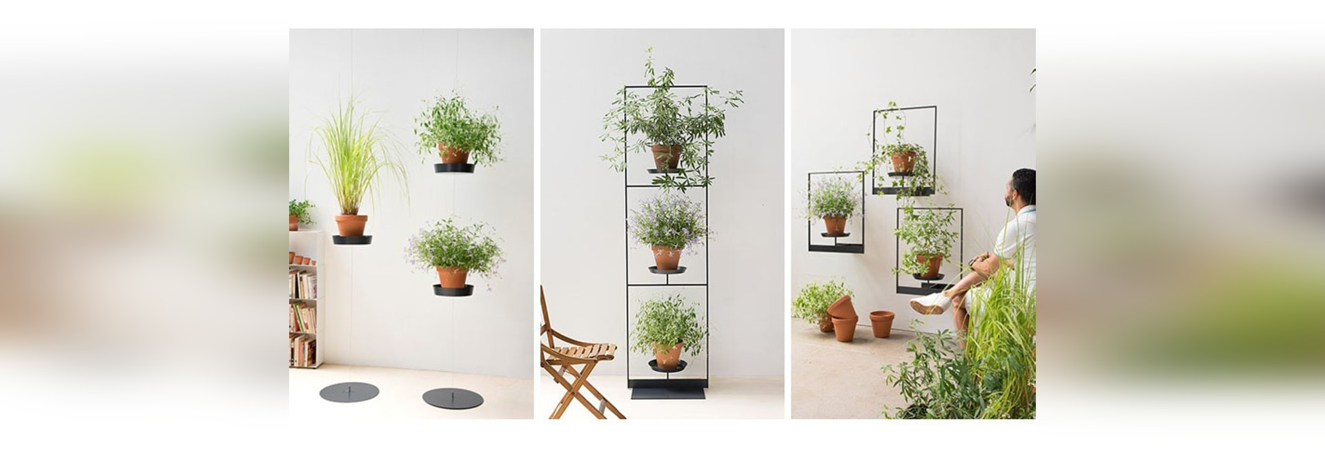 The Teepots Plant Stand Collection by Mauro Canfori