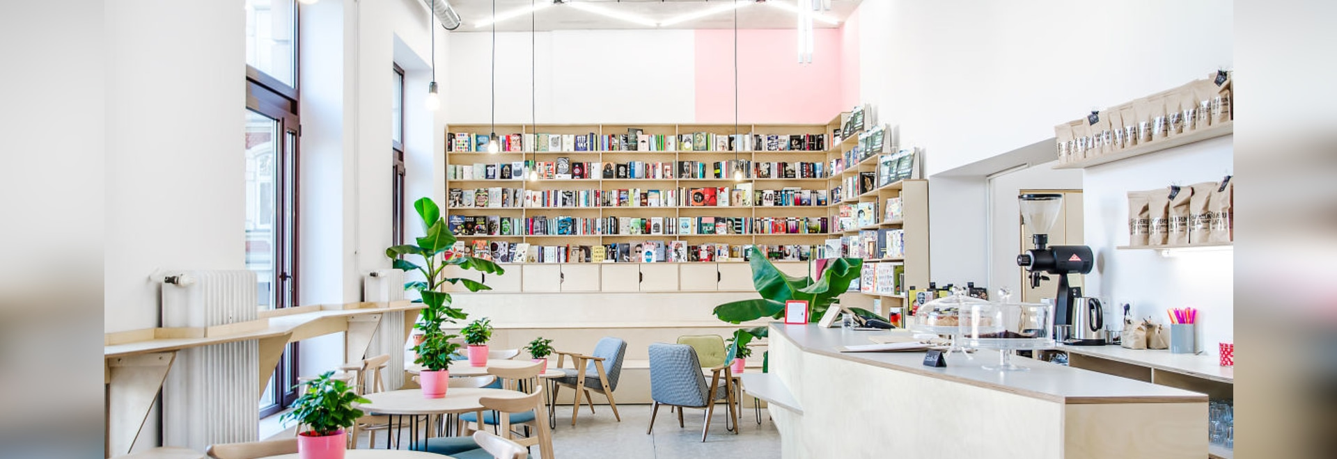 This Coffee House In Poland Is Also A Bookshop
