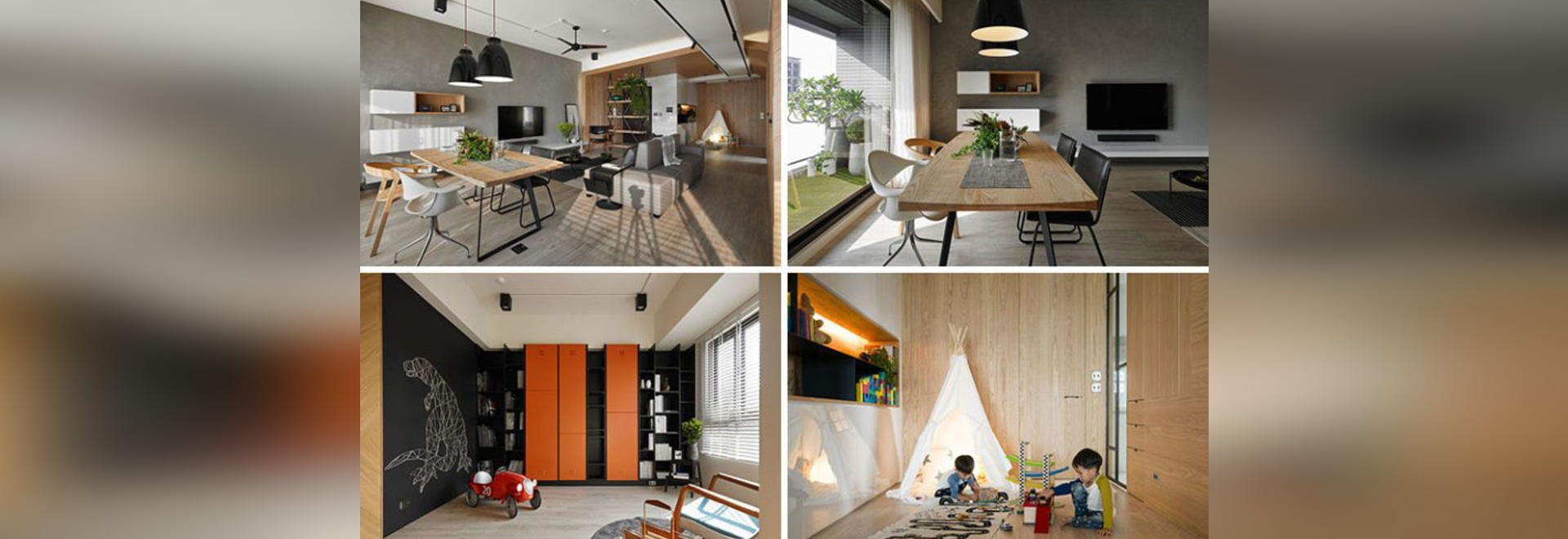 This Family Apartment Has Been Divided Into Zones That All Serve Unique Functions
