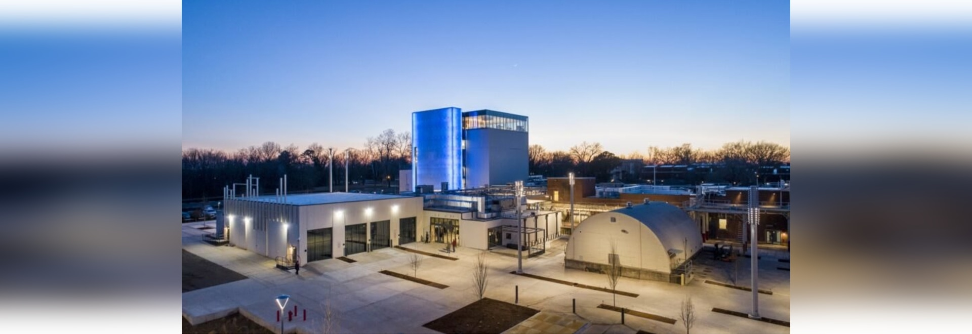 This modern art museum was once a cheese factory in Arkansas