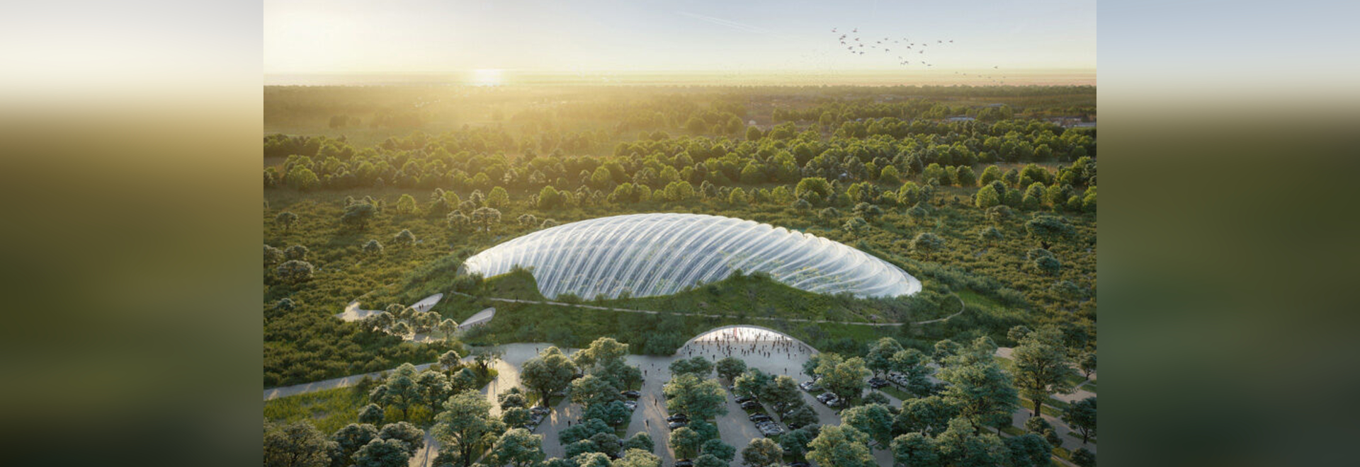 Tropicalia greenhouse by Coldefy, 2024