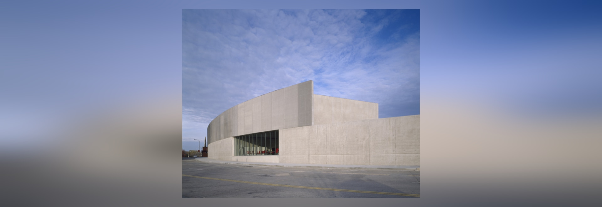 The two-storey Contemporary Art Museum St Louis is located in the namesake city's Grand Center District, adjacent to the Pulitzer Foundation for the Arts. Ribbons of concrete and stainless-steel me...