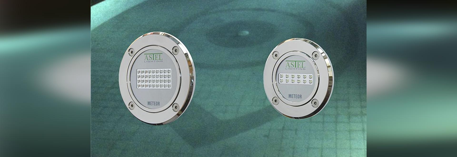 Underwater Pool LED Lights METEOR - Meet us at PISCINE GLOBAL!