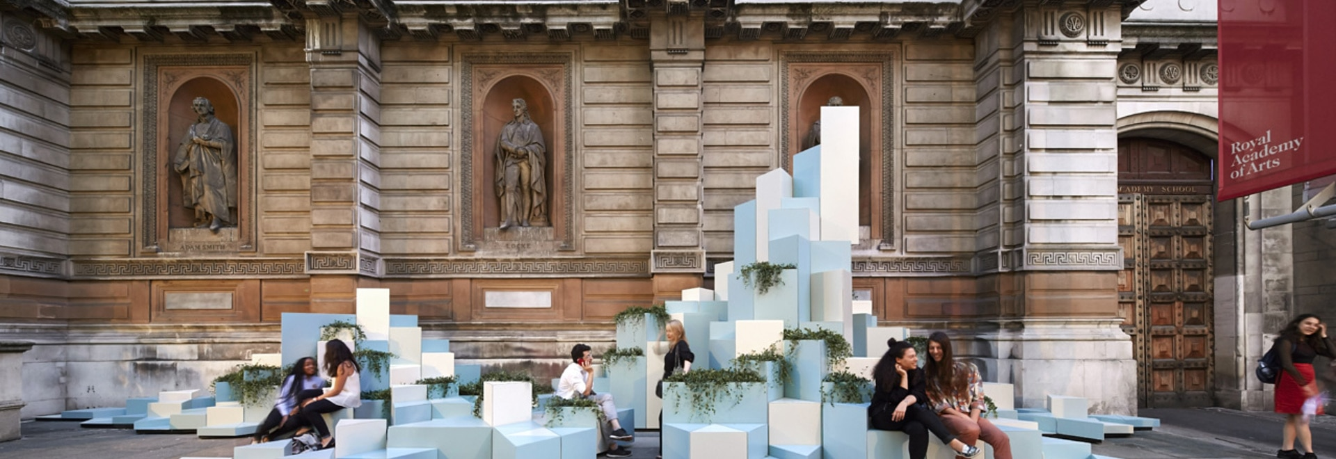 Unexpected Hill, SO Architecture Ideas, Commissioned by the Royal Academy of Arts and Turkishceramics