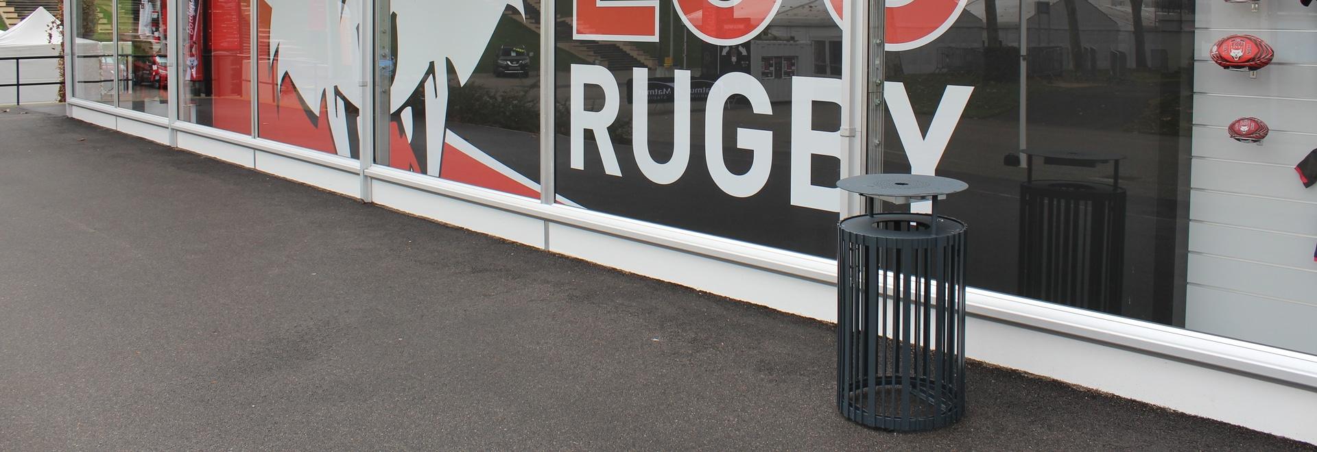 Urban furniture for the Matmut Stadium Gerland in Lyon