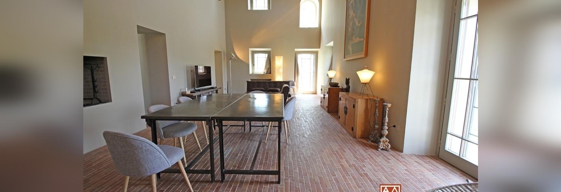 Villa on the Umbrian hills
