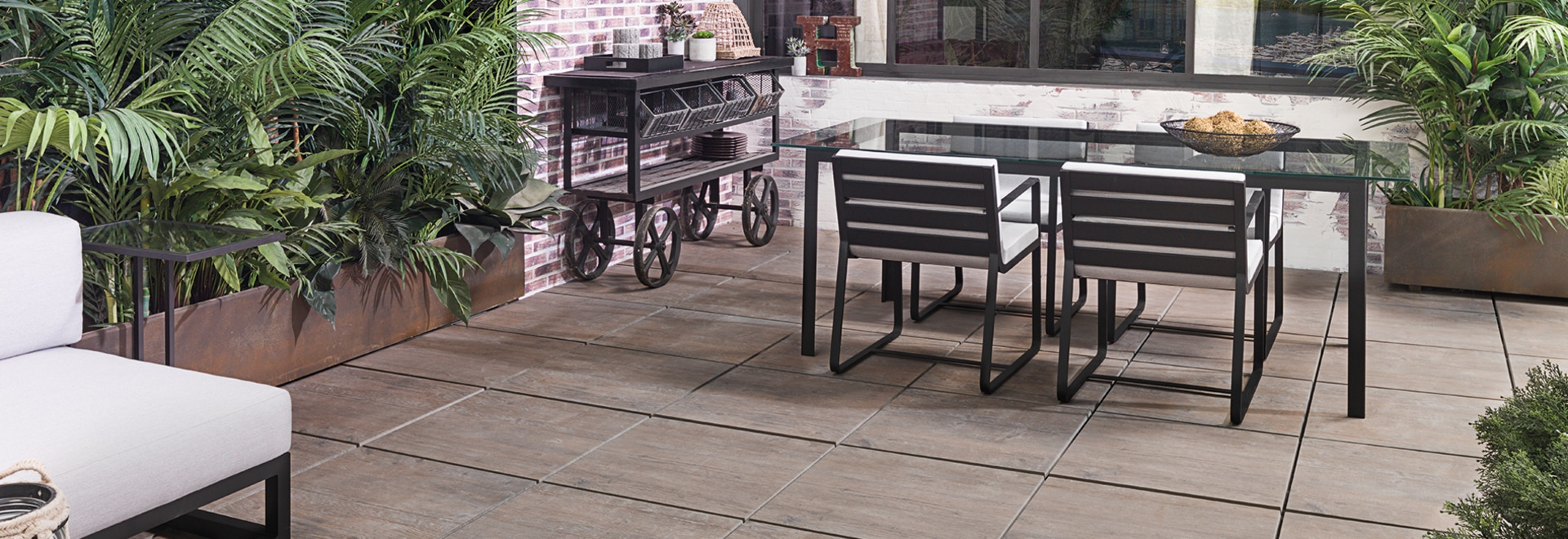 WEST - Extra-thick porcelain tiles 20MM