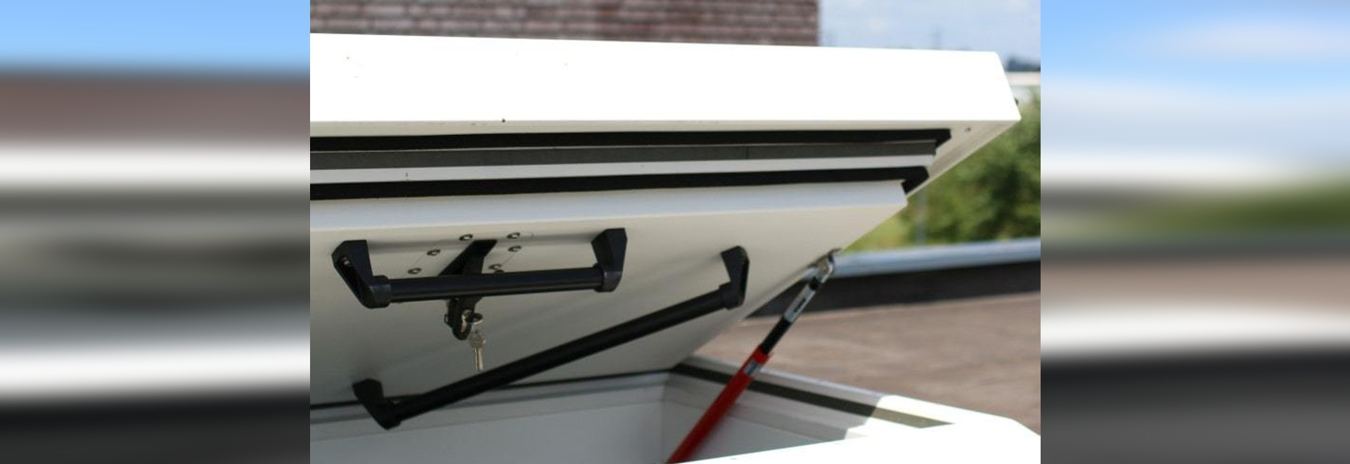 Why a roof hatch for roof access?