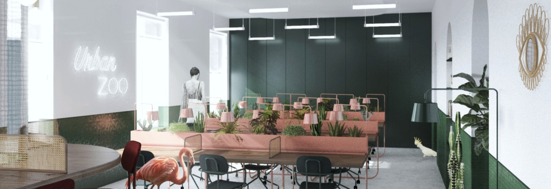 Winners of Urban Zoo Coworking Design Challenge competition