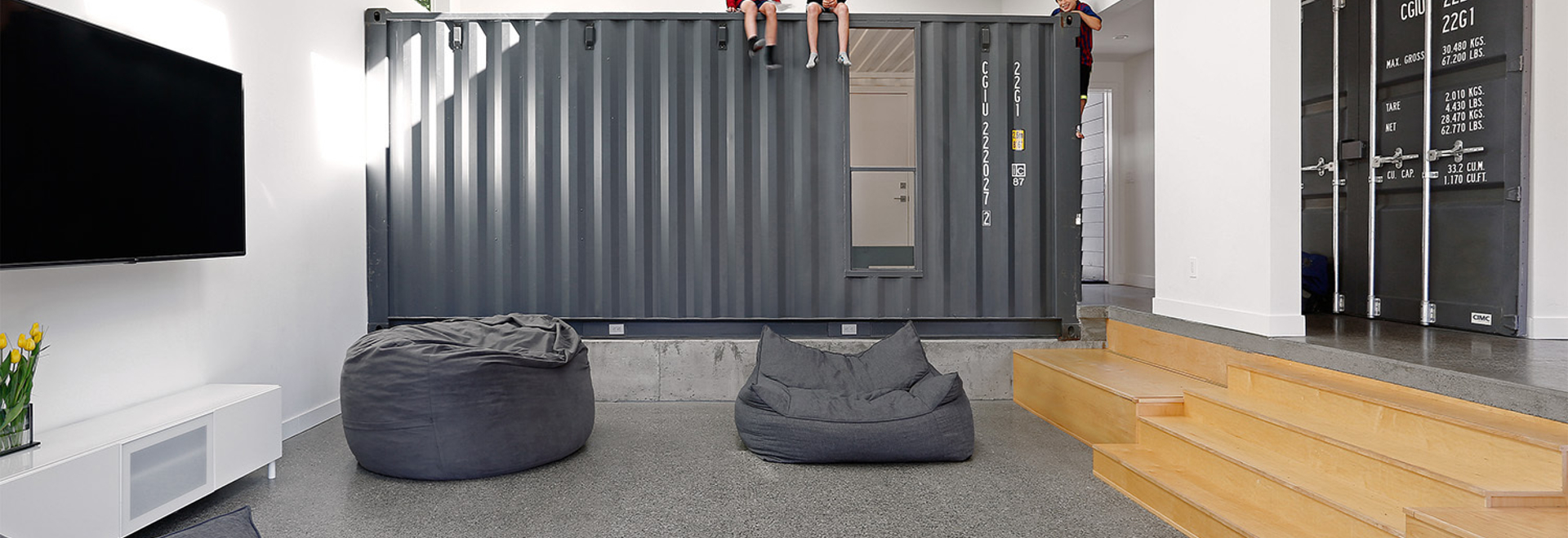 The Wyss Family Container House