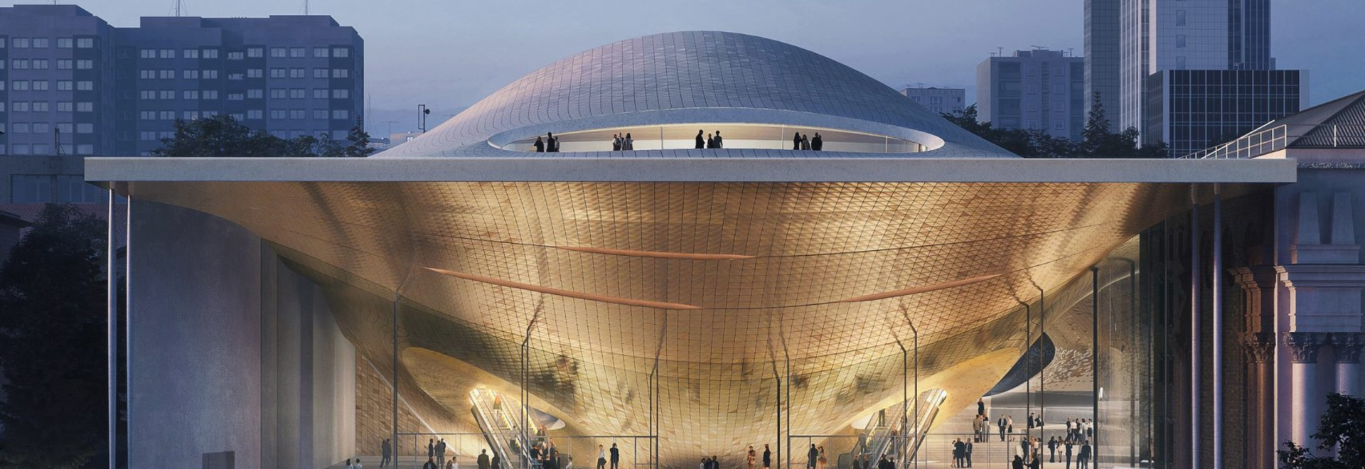 Zaha Hadid Architects to design concert hall for Ural Philharmonic Orchestra