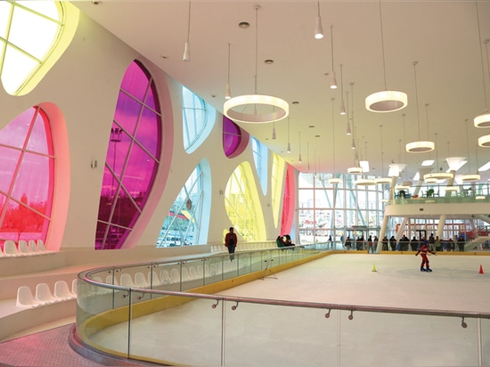 KAYSERI ICE RING BY BAHADIR KUL ARCHITECTS