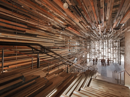 Nishi Building Timber Foyer