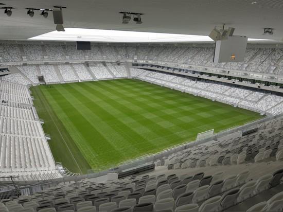 HEURZOG & DE MEURON COMPLETES NEW BORDEAUX STADIUM FOR UEFA EURO 2016