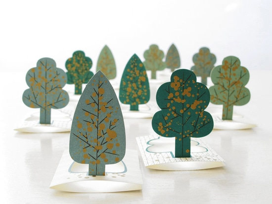 Paper trees from Jurianne Matter
