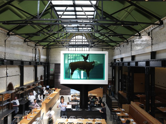 Tramshed, design by Waugh Thistleton, London, UK