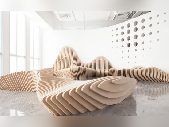 Sculptural Benches by dEEP Architects