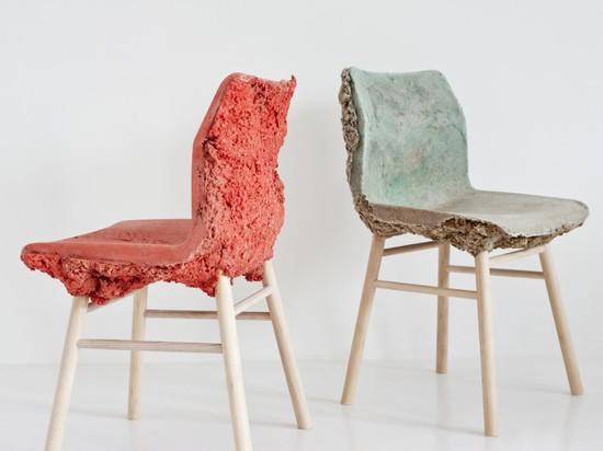 Well Proven Chair by James Shaw & Marjen van Aubel