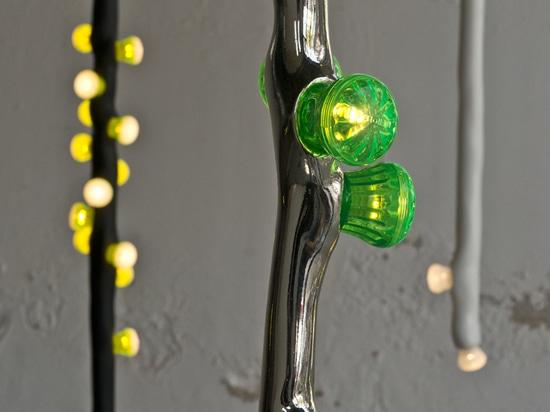LEDS Clay Light Sticks by Maarten Baas and Bertjan Pot