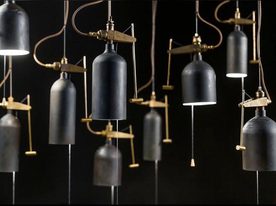 Bell Lamp by Akko Goldenbeld