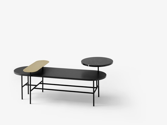 JAIME HAYON DESIGNS TIERED TABLES FOR &TRADITION