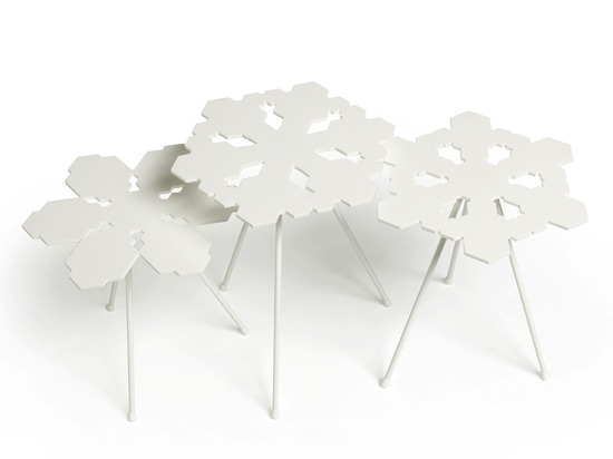 Snowflake tables by Claesson Koivisto Rune for Offect