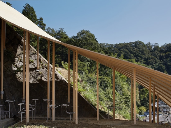 Roof and Mushrooms Pavilion for Kyoto University of Art and Design