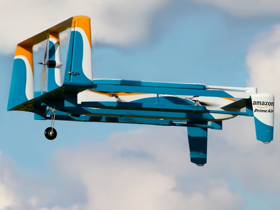 Amazon unveils video of its Prime Air delivery drones in action