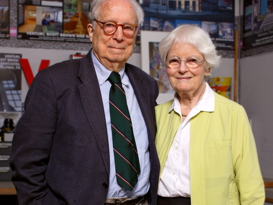2016 AIA Gold Medal laureates Robert Venturi and Denise Scott Brown