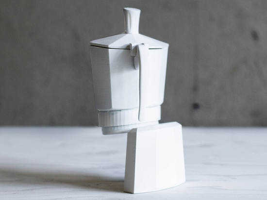 Louisa Zahareas' Screen Mutations ceramics are designed to be viewed on Skype