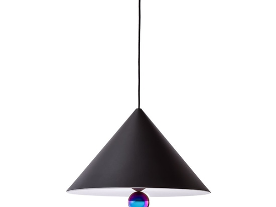 Cherry Black lampshade by Daniel Emma. Photograph by Ola Rindal