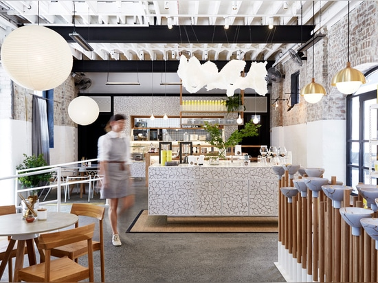 Matt Woods reinvents the tired and clichéd teahouse concept with The Rabbit Hole.