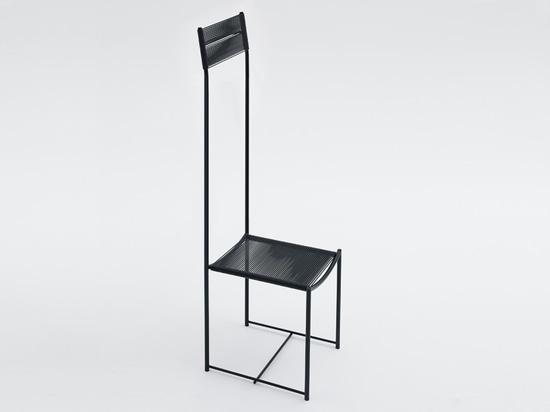 'alta tensione', spaghetti chair limited edition by alfredo häberli for alias