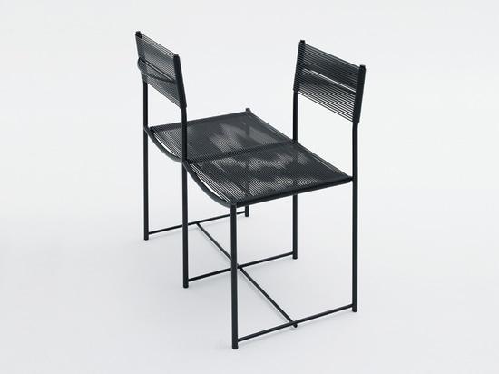 'viceversa', spaghetti chair limited edition by alfredo häberli for alias