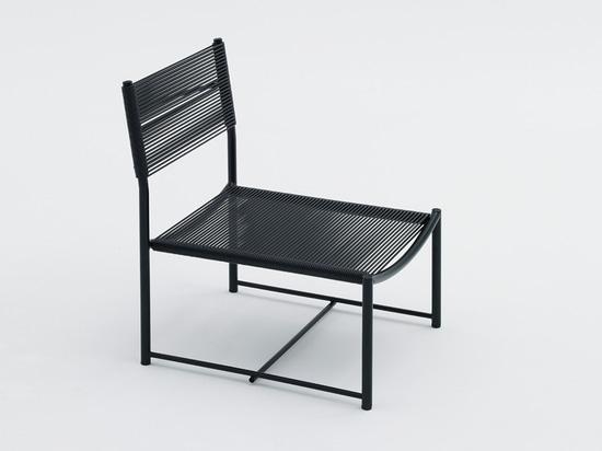 'fondamentale', spaghetti chair limited edition by alfredo häberli for alias