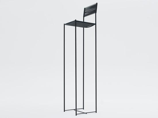 'alta vista', spaghetti chair limited edition by alfredo häberli for alias