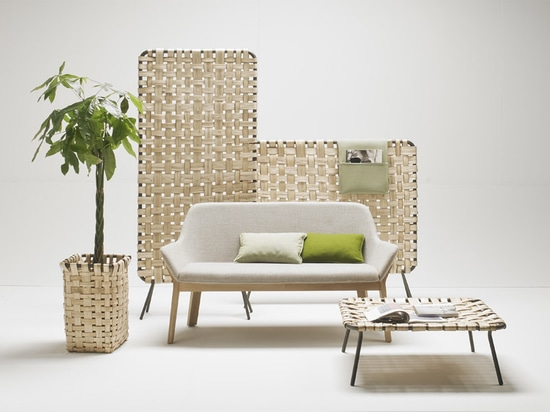 the collection references the woven chestnut basket