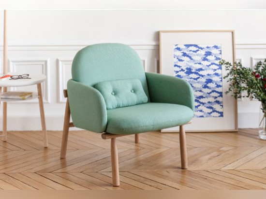 guillaume delvigne designed the 'georges' armchair