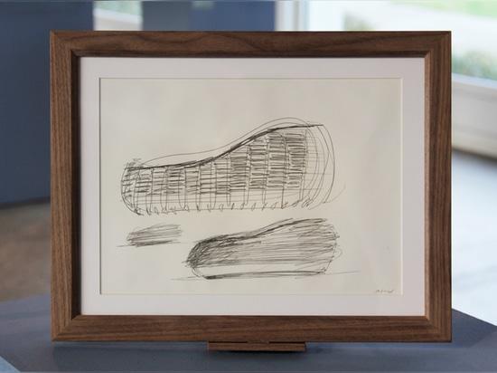 concept sketch of the unicredit pavilion by michele de lucchi, 2014