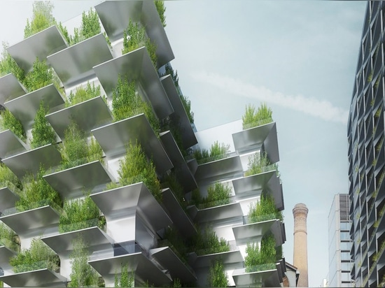 Trio of living green buildings reinvent Paris as a thriving sustainable ecosystem