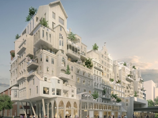 "Périphériques' affordable housing proposal reinvents Paris through ""crowd building"""
