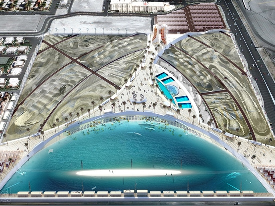 Las Vegas Extreme Sports Park combines wakeboarding, organic food and repurposed shipping containers