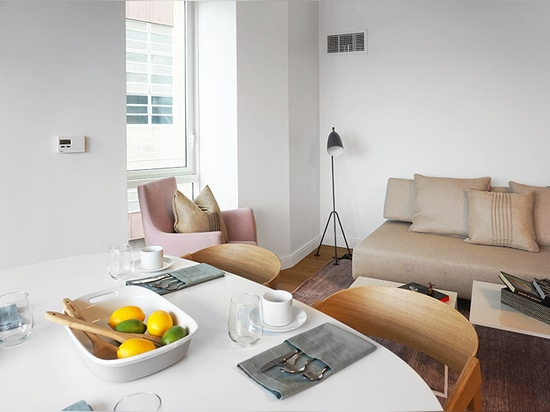 the scheme includes a range of studio, one, two, three, and four bedroom units