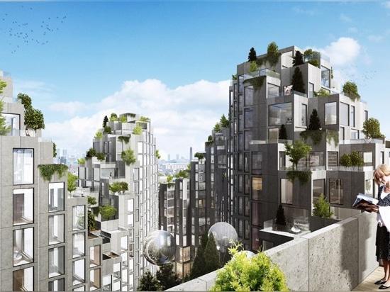 BIG plans vast redevelopment scheme with staggered roofline in toronto